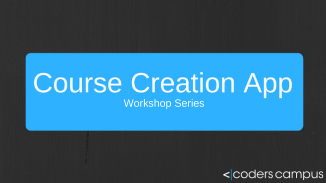 Course Creation Workshop Series Offer