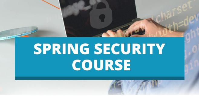 Spring Security Course Offer