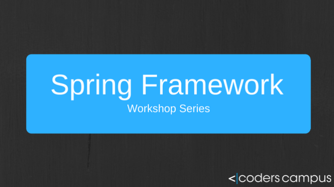 Intro to Spring Framework Workshop Offer
