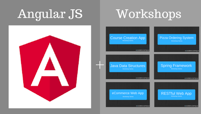Angular JS + Workshops Offer