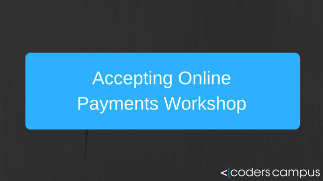 Accepting Online Payments with Java Workshop Offer